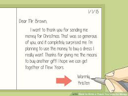 Thank You Message To Boss For Gift How To Write A Thank You Note For Money With Sample Thank You Notes
