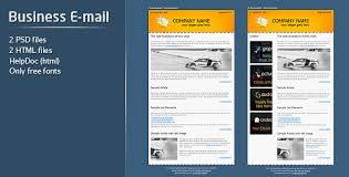 Business E-mail Template by firefleur | ThemeForest