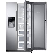 Samsung Food ShowCase 24.7-cu ft Side-by-Side Refrigerator with Ice Maker
