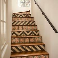 Fabulous Tiles For Stairs Design Designs For Stair Risers Stair Riser Tiles Design  Ideas