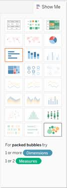 Build A Packed Bubble Chart Tableau