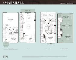 Martins Crossing Bloxham Floor Plan  Townhouse Design  Pinterest Townhomes Floor Plans
