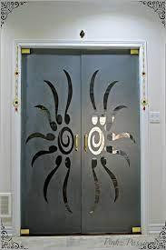 door glass design pooja room door design