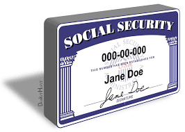 Security Replacement Ss - Card Social Lost –