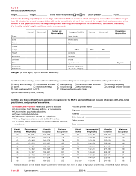 Sample Bsa Medical Form Bsa Medical Forms Resume Template Sample 17