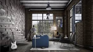 industrial style living room furniture. Industrial Room Decor: Style Living Furniture Design Ideas Rustic V