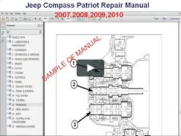 jeep compass patriot repair manual 2007 2008 2009 2010 on vimeo jeep cherokee wiring diagrams 2008 Jeep Patriot Wiring Diagram #27
