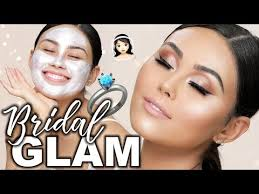 bridal makeup tutorial 2018