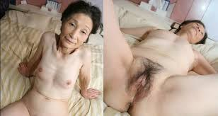 Hairy chinese granny takes huge cock