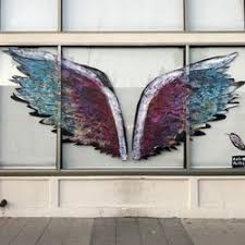 photo of angel walls los angeles ca united states  on angel wings wall art los angeles address with angel walls 25 photos landmarks historical buildings 8025