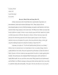 journalism essay  courtney webb jour 205 laura moorhead 03 18 2016 beyoncatildecopy black pride and