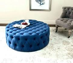 navy leather ottoman blue large medium size of narrow chair with storage furniture cocktail o blue leather ottoman