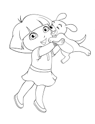 Dora And Friend Coloring Pages Unique Coloring Pages Pdf C Trademe