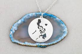 philippines pendant necklace