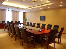 Elegant office conference room design wooden Conference Table Modern Enterprise Conference Room Minart Egypt Minart Egypt Minart Products