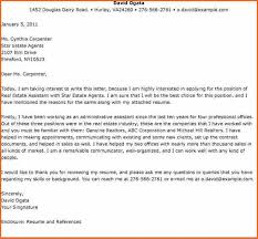 Awesome Collection Of Cover Letter Real Estate Sample Real Estate