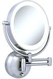 lighted make up mirror image of makeup vanity with lights t68