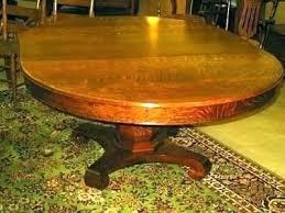 antique round pedestal dining table antique round oak table oak pedestal tables pedestal table awesome horizon antique round pedestal dining table