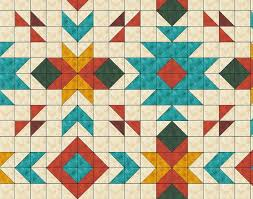 Southwest Quilt Patterns Magnificent Southwest Quilt Pattern Southwest Quilt Nativ American Quilt