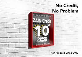 Get Prepaid Credit Now Pay Later Local Int Zain Ksa