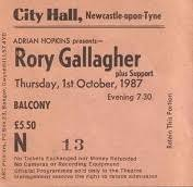 rory gallagher vintagerock s weblog including old favourites out on the western plain pistol slapper blues tattoo d lady bullfrog blues this was to be the last time i would see rory