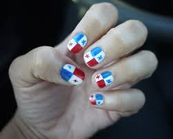 Trinidad Flag Nail Design Angelapanama Com Panama Flag Nails