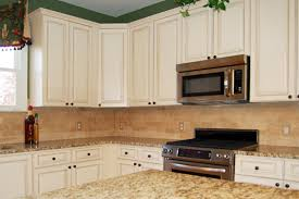image of chalk paint kitchen cabinets black
