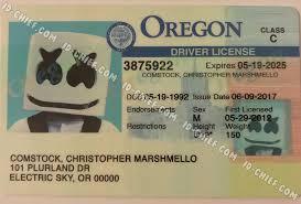 Id Fake Oregon Id-chief Maker Premium Cards