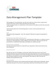 Management Plan Template Change Management Plan Template Doc Sample ...