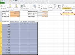 rate comparison format in excel create an excel data table to compare multiple results techrepublic