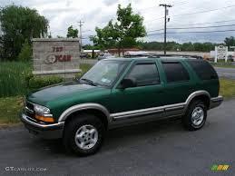 1999 Meadow Green Metallic Chevrolet Blazer LS 4x4 #30935880 ...