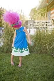 Poppy Troll Dress Pattern Custom Inspiration