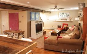 Superb Decorating Ideas   Basement Family Room