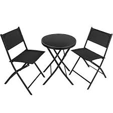 abbey dining set with 4 black faux