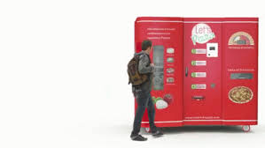 Italian Pizza Vending Machine Stunning Italian Pizza In 48 Minutes GIF LetsEatPizza Food Vending