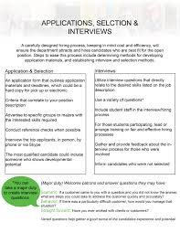 student employment enhancementrecruitment hiring student application selection interviews