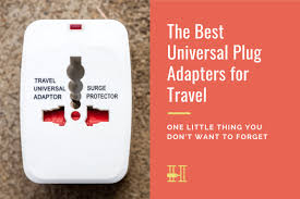 best universal plug adapters for travel
