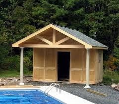 small pool shed. Sheds. Small Pool House Plans Webbkyrkan Com Shed L