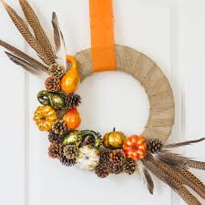 Fall Wreath Make A Rustic Fall Wreath