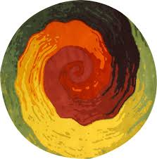 the best circle rugs for your interior furniture decor idea abstract circle rugs for your