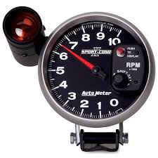 gauges sport comp ii how to set autometer tach shift light at Autometer Sport Comp Wiring Diagram