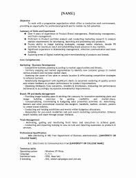 Business School Application Resume Template Mba Admission Free