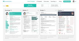 Intuitive And Professional Resume Builder 2018