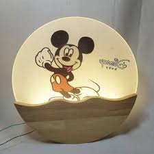 Đèn led gắn tường MONSKY - Đèn led cao cấp (Chuột Mickey) - Đèn chùm