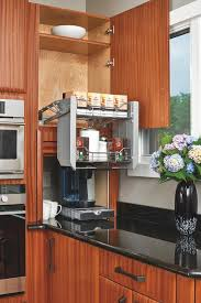 Universal Design Kitchen Cabinets False Front Cabinets Or Flipper Doors Are A Great Way To Create