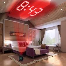 Digital Time Clock For Lighting Lcd Projection Led Display Time Digital Alarm Clock Talking Voice Prompt Thermometer Snooze Function Desk Xnch