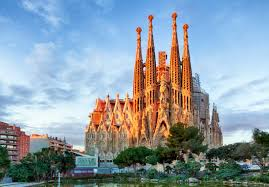 sagrada familia famous church in barcelona spain country wallpapers hd wallpapers