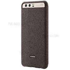 side flip phone. huawei oem smart side window leather flip phone cover for huawei p10 plus - brown-