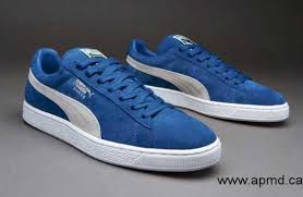 puma 2017. 2017 canada - mens shoes puma suede classic+ strong blue / white 356568-36 ca