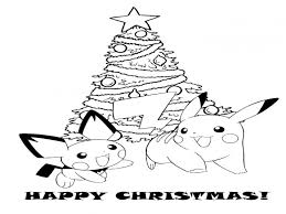 Small Picture Christmas Pokemon Coloring Pages Pretty Coloring Christmas Pokemon